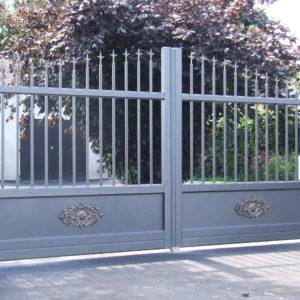 Portail aluminium METEORE