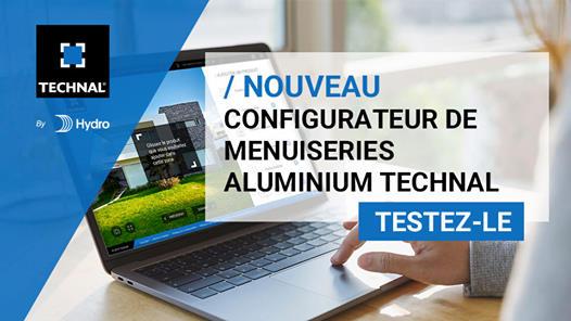 Configurateur menuiseries aluminium TECHNAL